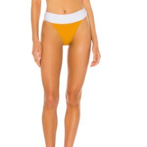 HOUSE OF HARLOW 1960 SAXON BOTTOMS IN Amber/White